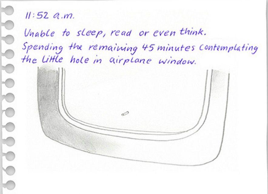 「飛行機あるある」を描いたイラスト 思わず共感っ!