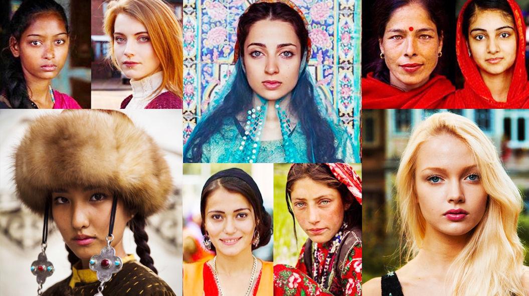 世界45カ国「国や文化によって異なる美しい女性」