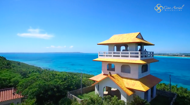 沖縄・宮古島をドローンで空撮。空からしか分からない「青い魅力」