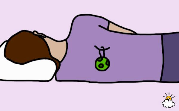 「左向き」で寝ることが健康的な8つの理由