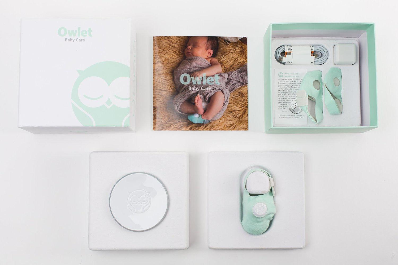 緊急時にはアラートも 赤ちゃんの心拍数と酸素濃度を計測してくれる便利な「くつ下」