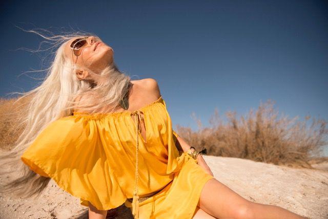 60歳現役ファッションモデルが明かす、美の秘訣は「1日1個のアボカド」
