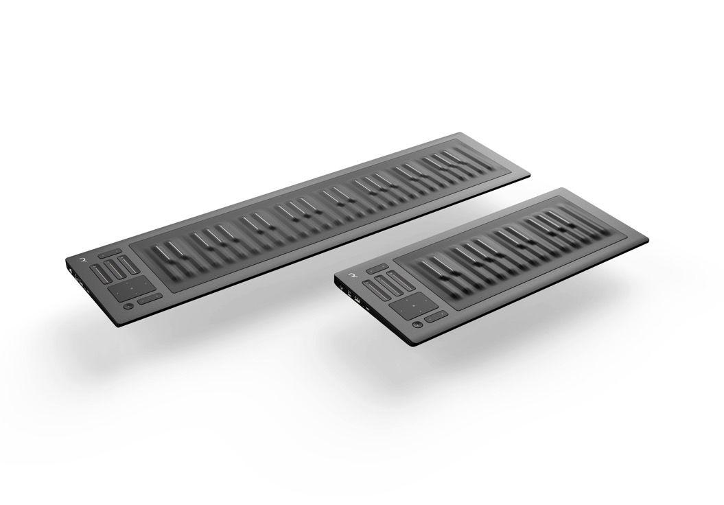 「やわらかい鍵盤」のシンセサイザーが凄い!ウッドベースの音程も自由自在