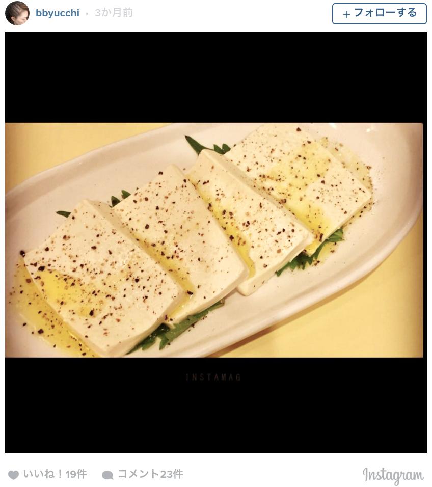 豆腐に塩をまぶした「塩豆腐」・・・まるでモッツァレラチーズ!?