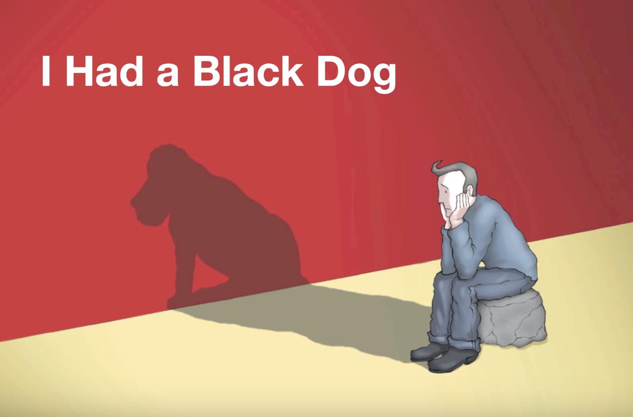 「大切なのは飼いならすこと」鬱病を黒い犬にたとえた動画に考えさせられる・・・