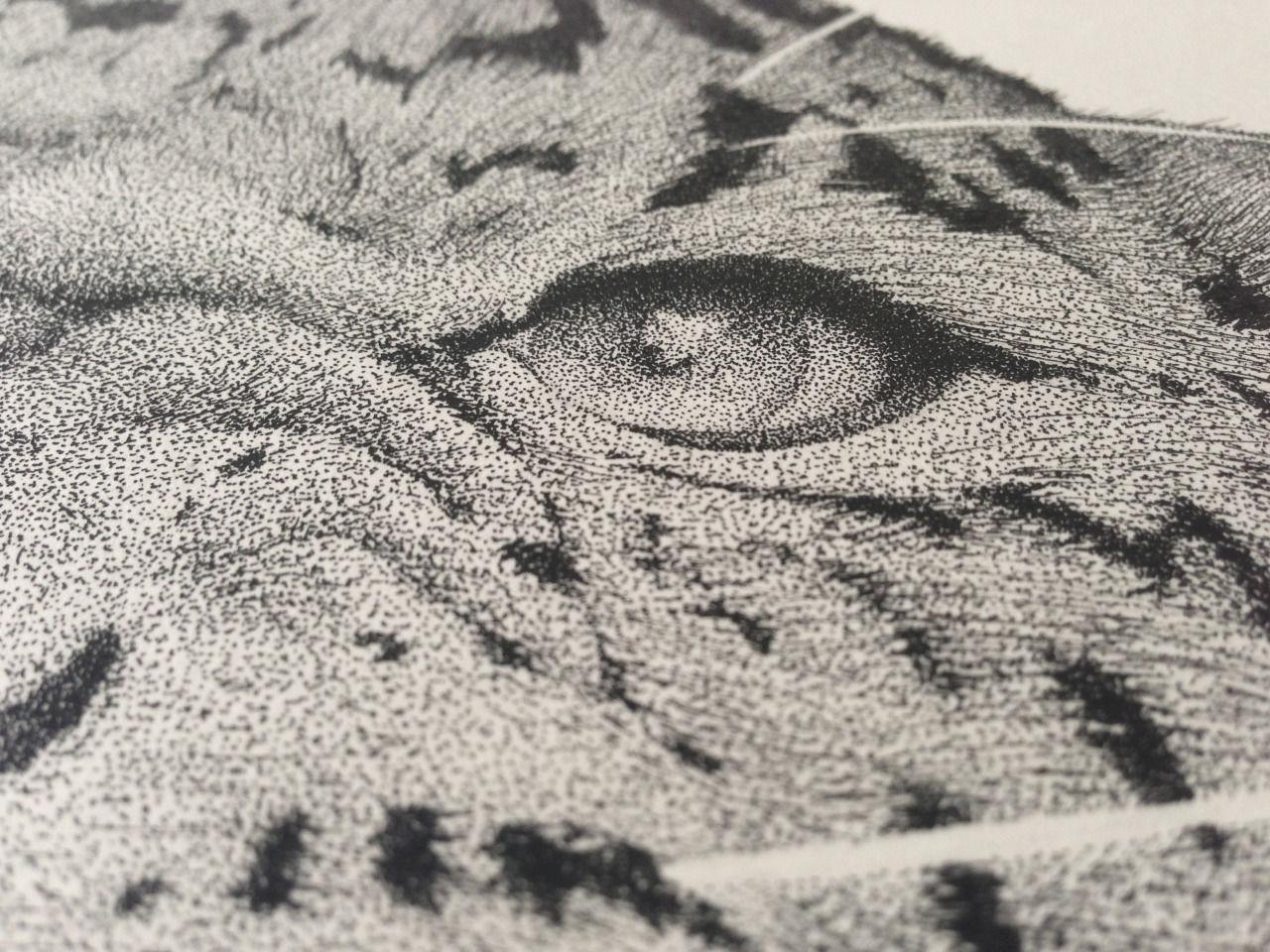 100万個以上の「点」だけで描かれた作品がスゴイ・・・