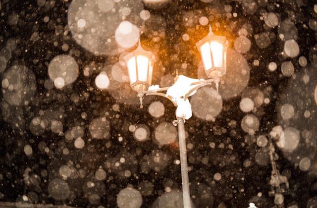 金色に輝く!雪の銀山温泉が幻想的すぎる・・・