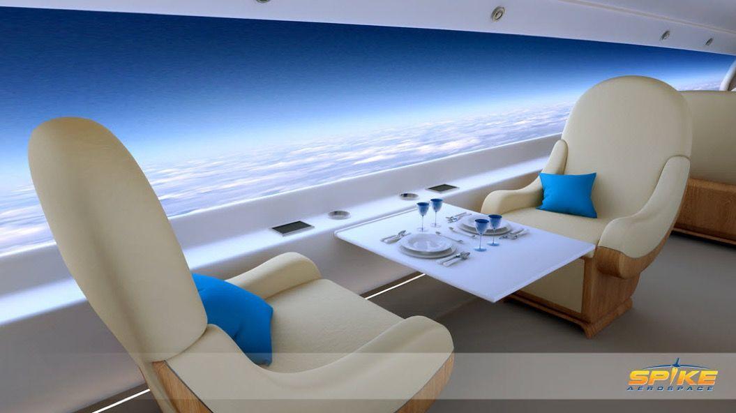 東京からLAまで約5時間!超音速のプライベートジェットは機内からの眺めも最高だった・・・