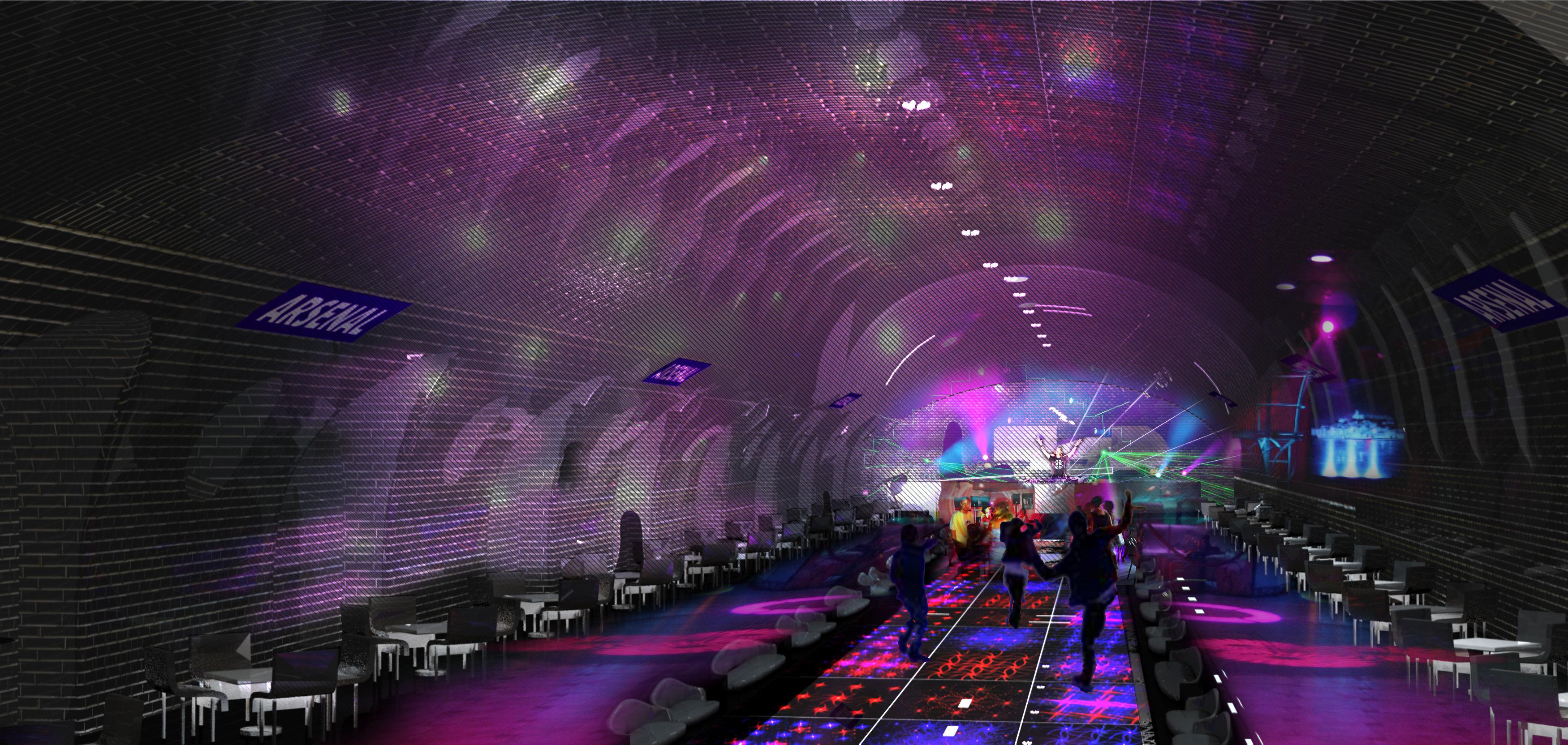 老朽化した地下鉄の線路の使い道は、意外にもプール、クラブ、映画館だった・・・