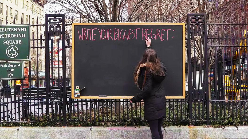 【実験動画】NYの人に聞いてみた。「人生で、一番後悔していることはなんですか?」
