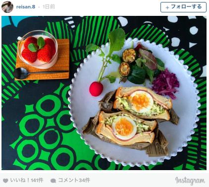 野菜たっぷりのサンド!「沼サン」のアレンジ作がInstagramで大盛り上がり!