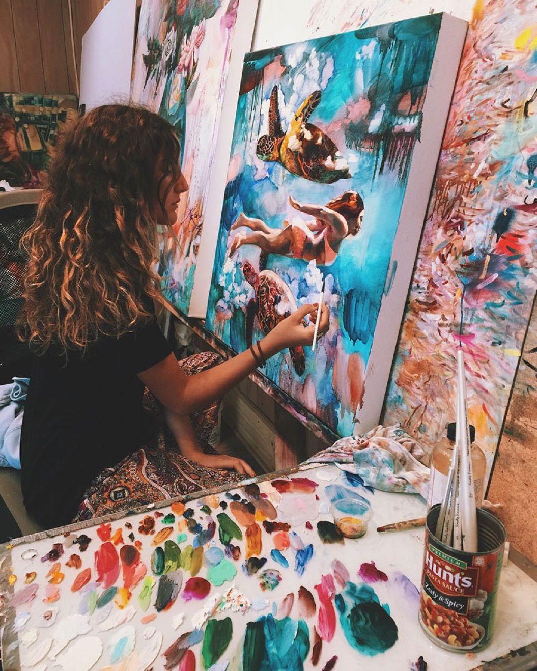 「すべてを捧げてひたすら描け」16歳の天才画家が両親から教わったこと
