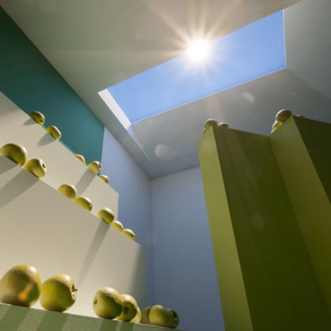 LEDによって人工の光を再現!近い将来、高層ビルが地下に沈む?