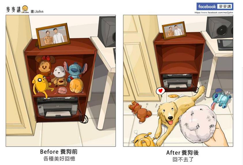 ペットを飼ったら、私生活がこんなに変わった(9枚のイラスト)