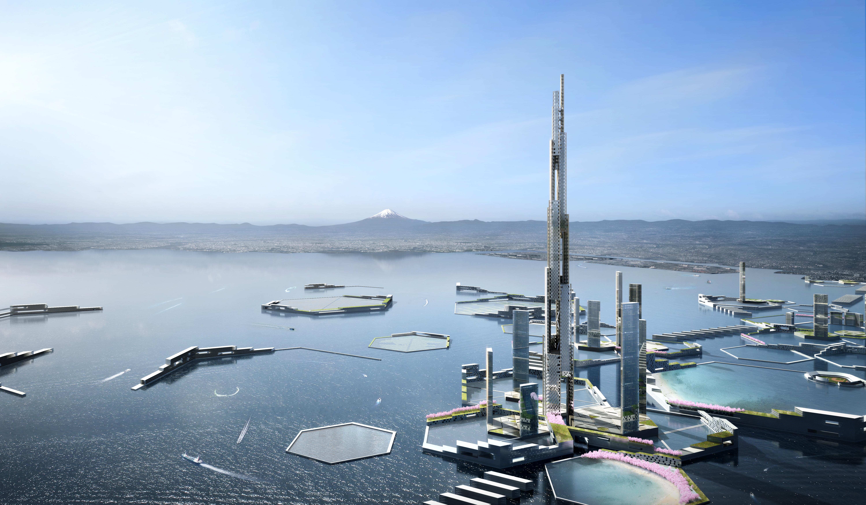 2045年、東京湾の真ん中に世界一高い「高層タワー」が建つ?