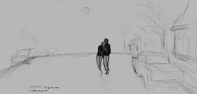 幸せのアルバム。愛する妻との何気ない日常を、365日描き続けた男性