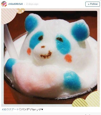 モフモフ泡でつくる「3Dラテアート」 可愛いすぎて飲めない・・・