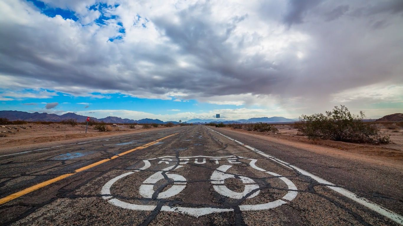 長時間露光で「Route 66」を撮影。絶景タイムラプスに思わず興奮!