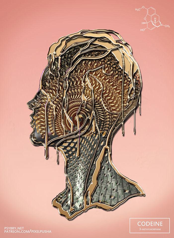 20種の「ドラッグ体験」を、1日ずつ作品に描いていったイラストレーター