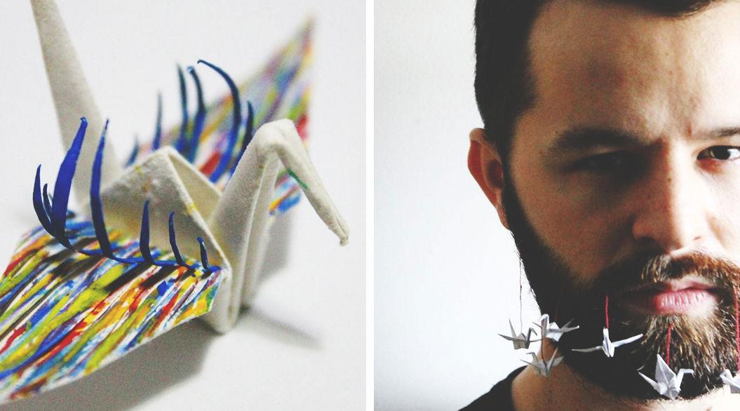 Origamiに魅せられた男の「折り鶴」が、独創的すぎると話題に!