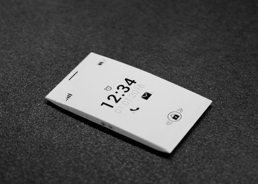 名刺サイズのスマホ「O phone」が気になる!