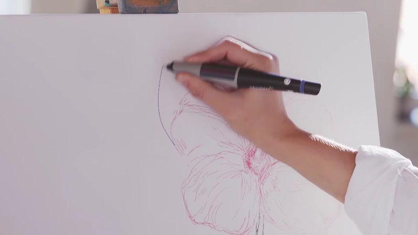 好きな色をスキャンして使えるペン「Scribble」