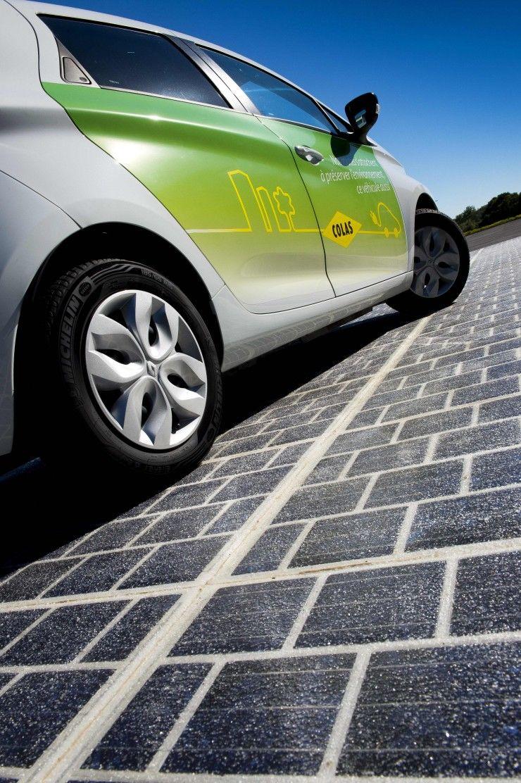 フランスがソーラー道路に本気! 5年かけて1,000km以上も建設するらしい