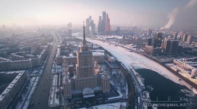雪化粧に夜景も・・・「冬のモスクワ」はこんなにも美しかった。