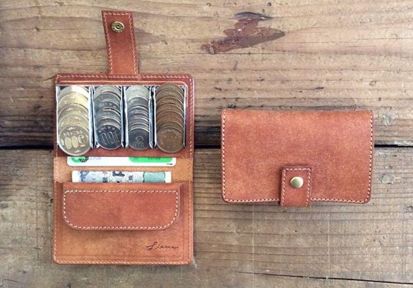 コインを整列できる「財布」がめちゃ便利そう