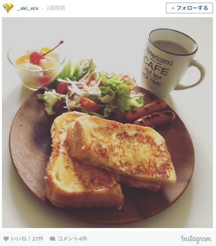 ちょっとリッチな朝ごはん「モンティクリスト」 Instagramに投稿が溢れる!