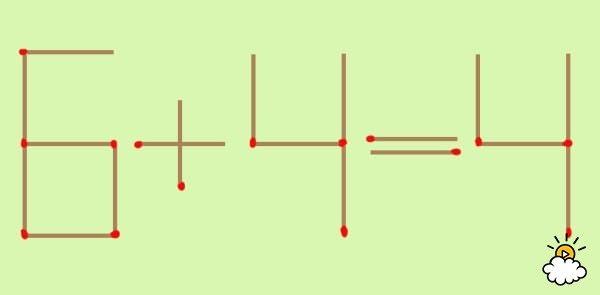 【クイズ】マッチを1本だけ動かして計算式を成立させる「3つの方法」とは?