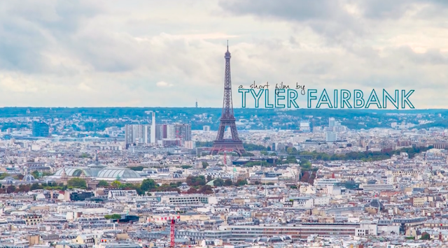 ボンジュール パリ!「花の都」の一日をタイムラプス動画で