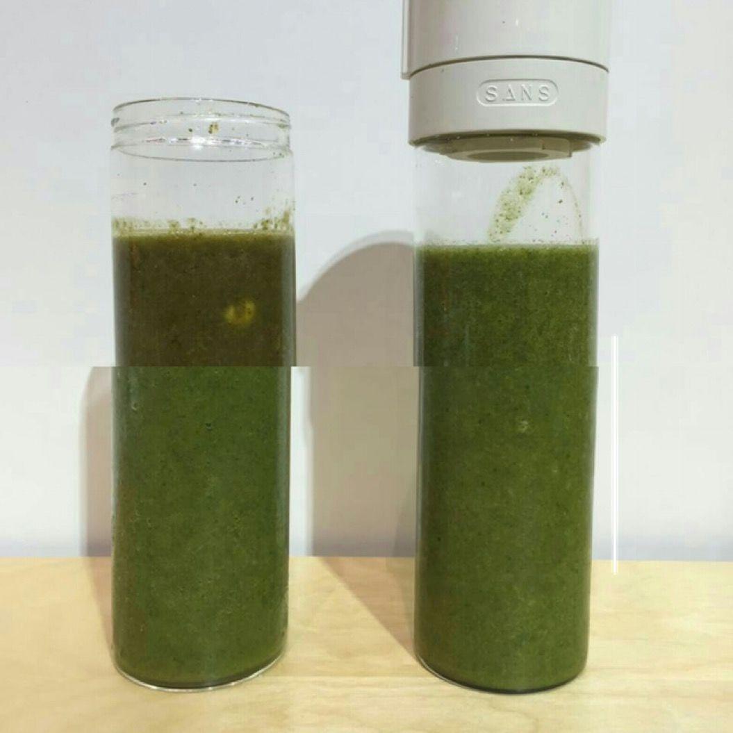 スムージーの酸化を防ぎ、美味しさを保つ真空ボトル「SANS」