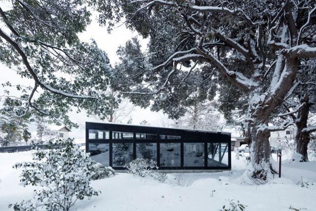 雪景色と一体化できる「ガラス張り」の施設に行ってみたい!(新潟)