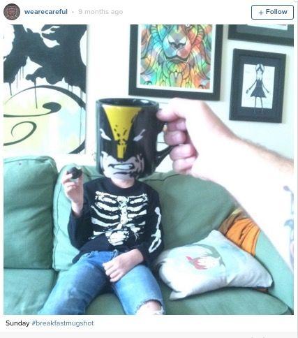子供たちがヒーローに変身!朝ゴハンが楽しくなる「ブレックファスト・マグショット」