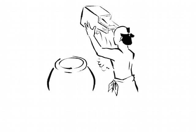 【イラスト9枚】小山薫堂氏が提唱する、お風呂の作法「湯道」がイイ!