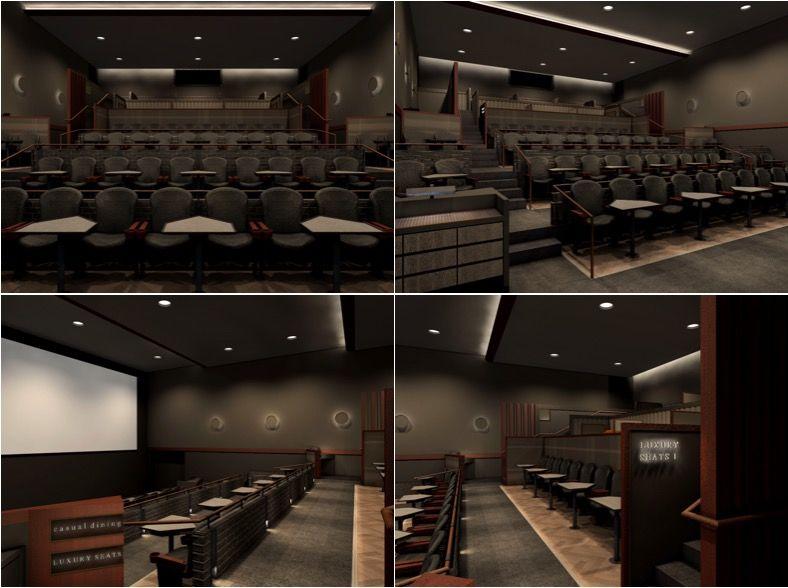 日本初!映画館とレストランが一体化した「プレミアム・ダイニング・シネマ」がオープン(福岡)