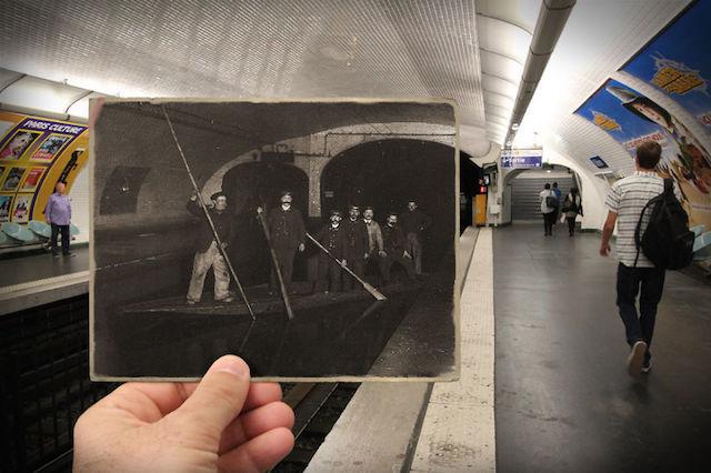 100年前と現代のパリを、写真でシンクロさせてみた