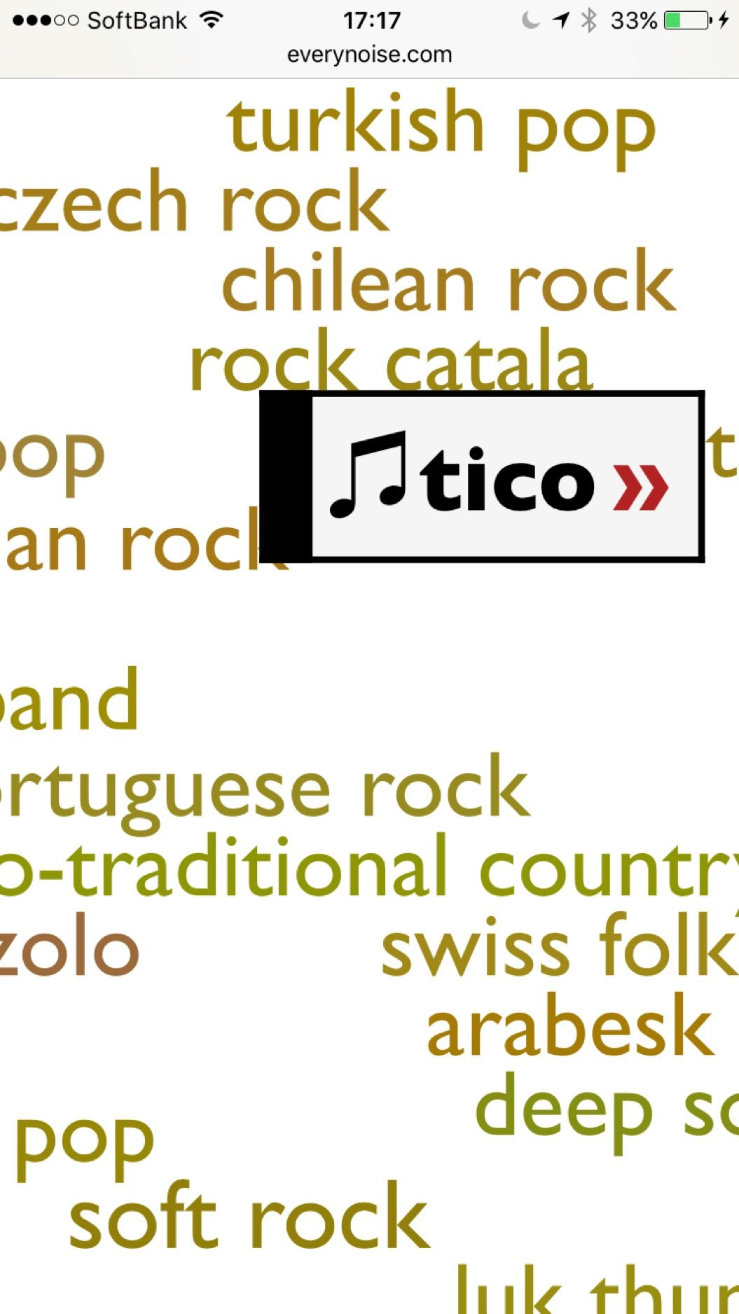 1371ジャンルの楽曲が試聴できるwebサイト。あなたはいくつ知ってた?