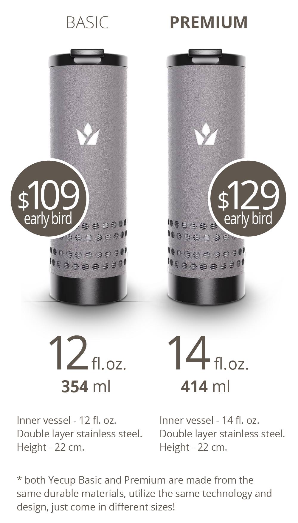 スマホで自由に温度調節できるタンブラー「Yecup 365」が便利すぎる!