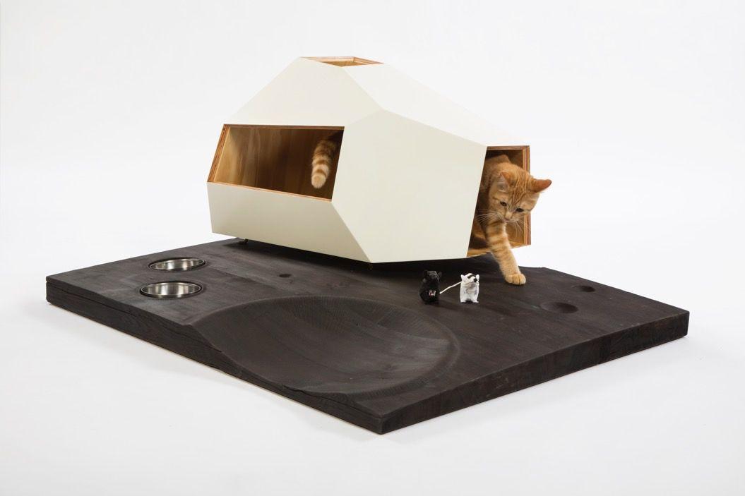 スタイリッシュ☆有名建築家たちが「猫ハウス」を作るとこうなる!