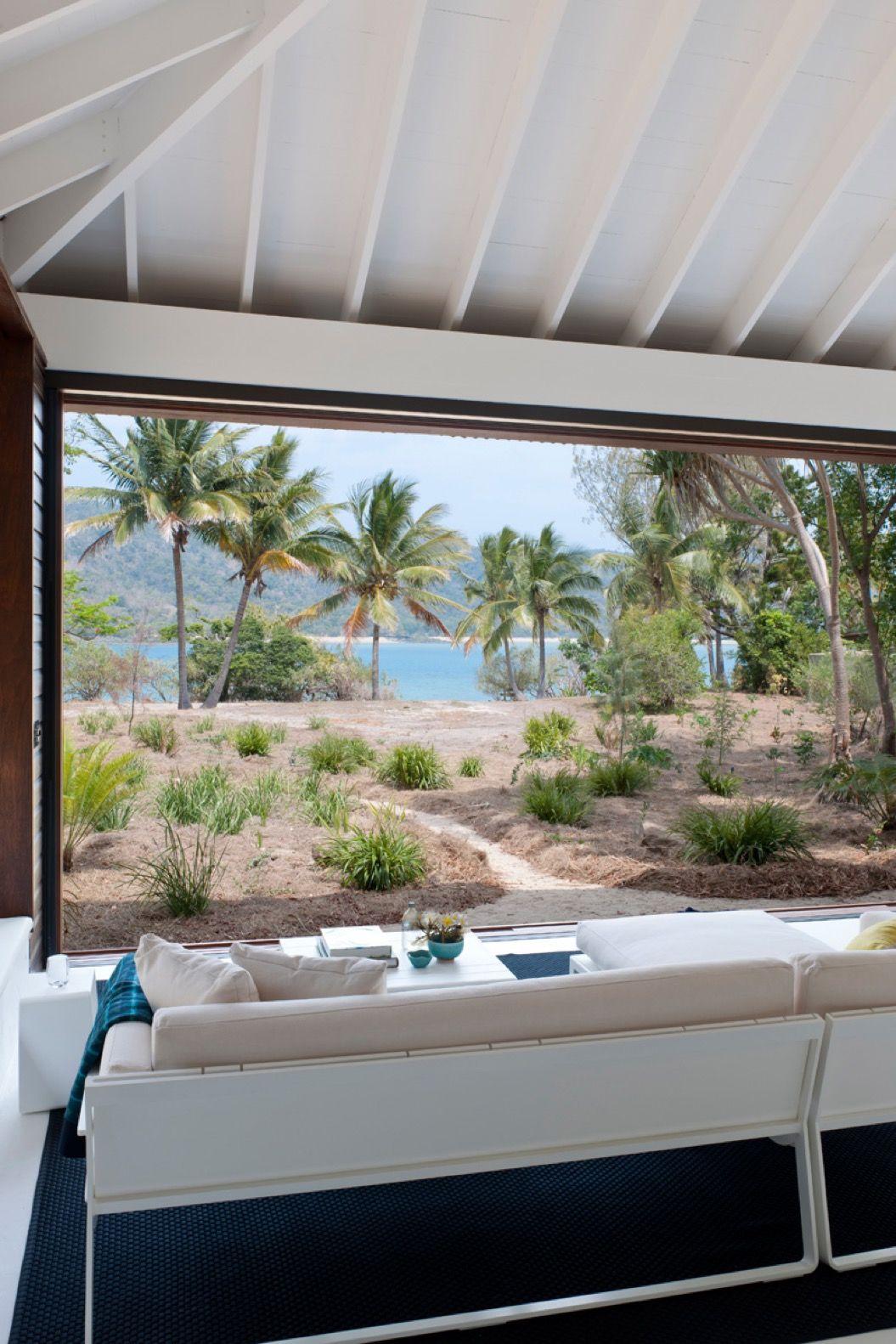 気持ちよさそう!開放感あふれる、オープンすぎるビーチハウス