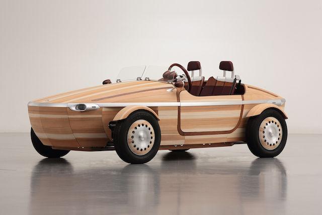 トヨタ自動車が作った木の車「SETSUNA」。込められた想いが深かった・・・
