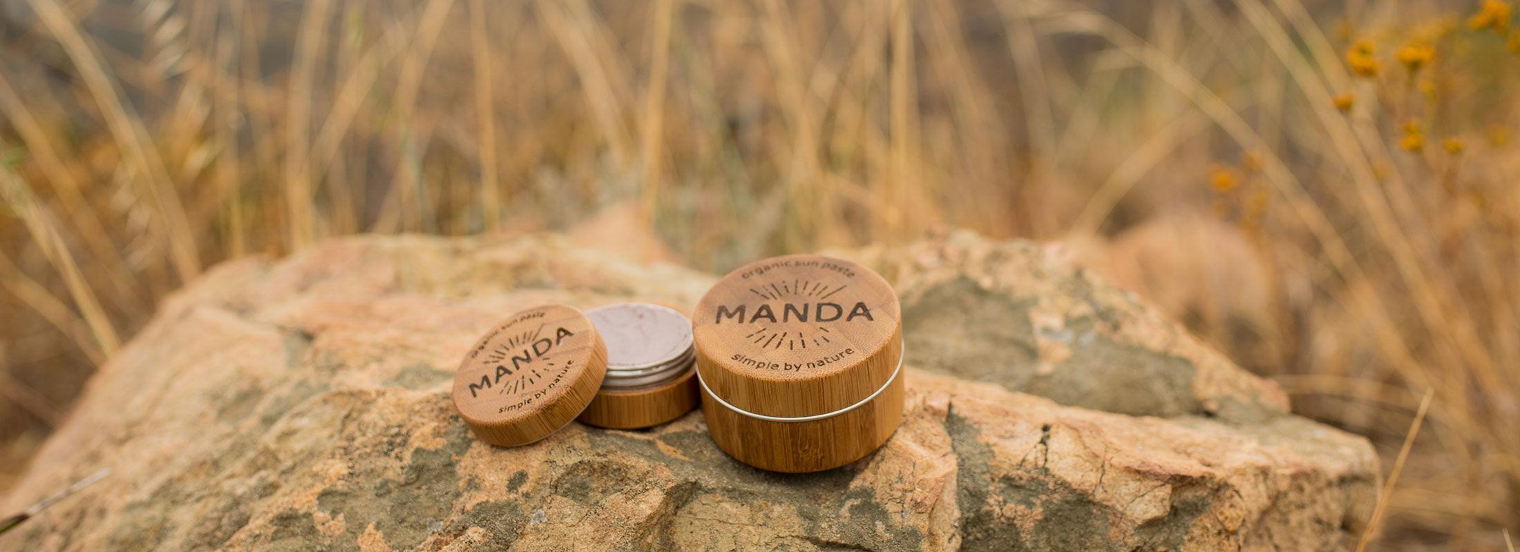 天然素材でできた、海に優しいオーガニック日焼け止め「MANDA」