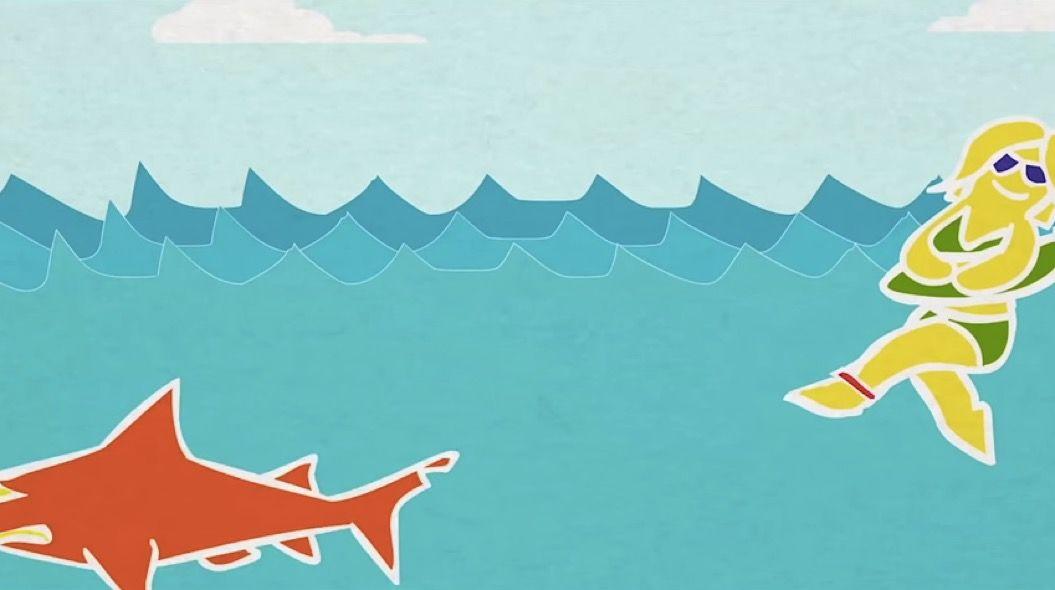 身につけるだけで「サメが逃げていくバンド」の効果がすごい!