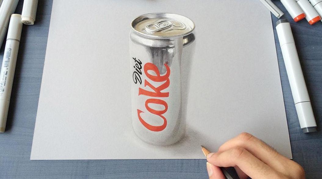 19歳が独学で描いた「3Dアート」に驚きの声が続出・・・ | TABI LABO