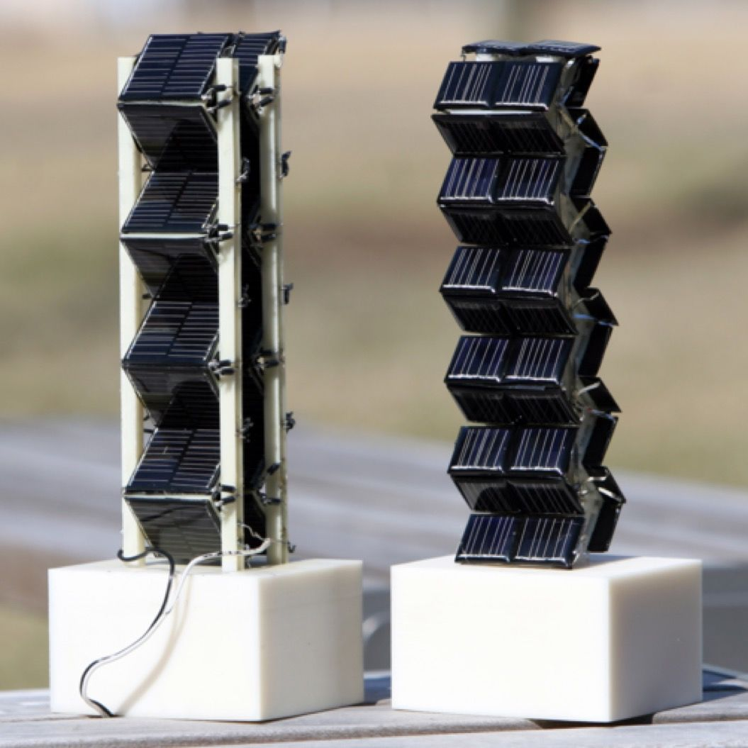 そのパワー、約20倍!タワー型の「3D」太陽光発電が斬新