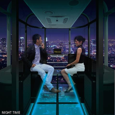 高さ日本一の「大観覧車」はシースルー構造!大阪に新たな夜景スポットが登場