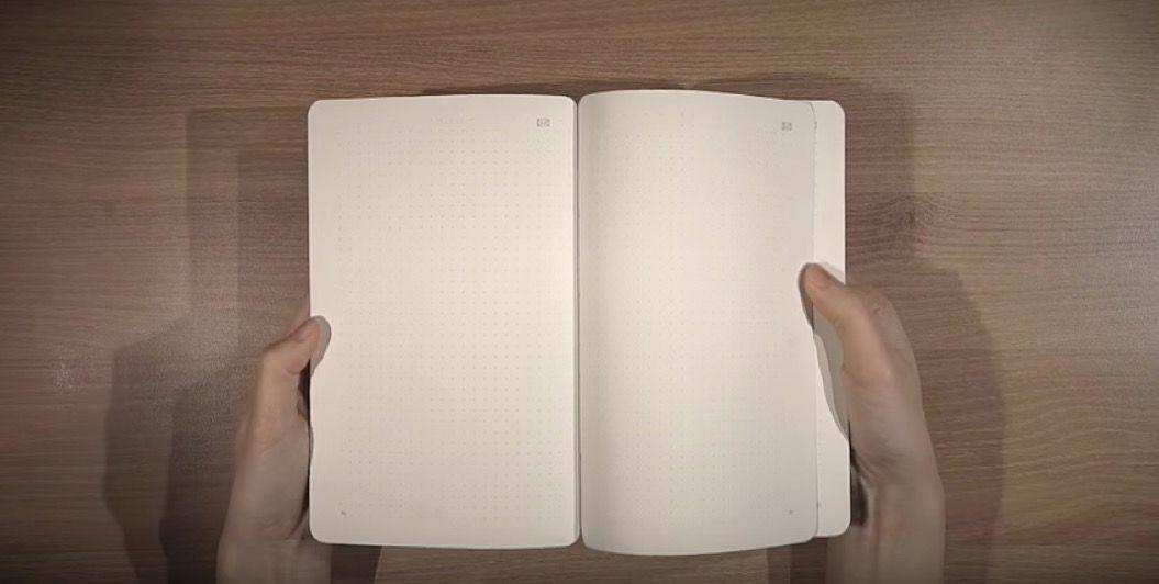 書いたものをそのままコピー!モレスキンから「スマートノート」が登場