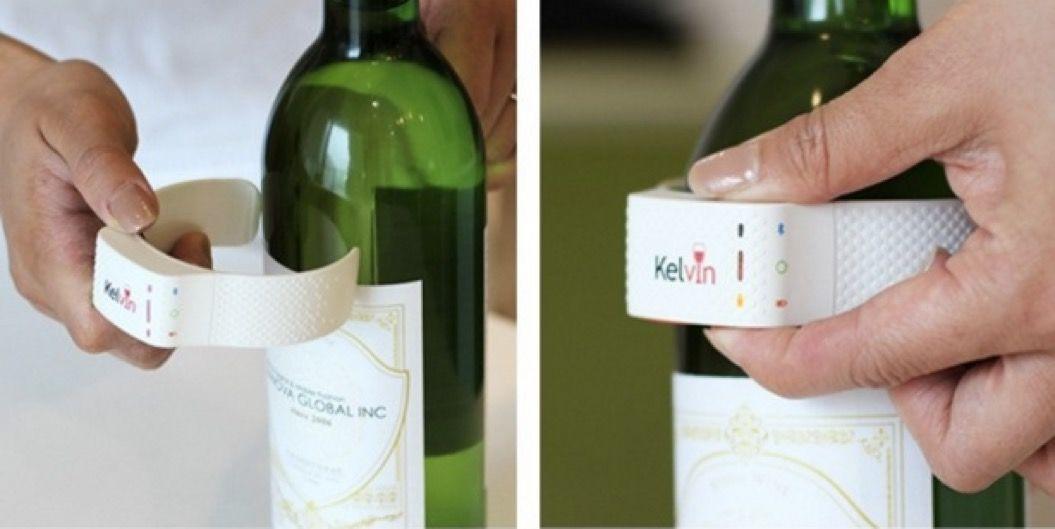 ソムリエいらず!?「ワインの適温」を教えてくれるスマート温度計